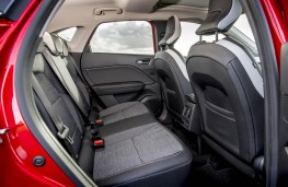 Renault Captur, rear seats